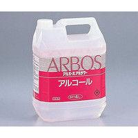 アズワン アルボースアルコール消毒液アルサワー(詰め替え用) (4L コック付き) 14810 1個(4000mL) 6-8595-01 (直送品)