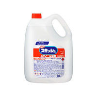 花王(kao) パワースキッシュ 4.5L 業務用 エタノール製剤 167140 1本(4500mL) 2-8732-01 (直送品)