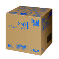 ソフトインワン シャンプー 業務用10L(注ぎ口コック付) 1セット(3個入)
