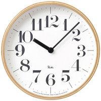 Lemnos(タカタレムノス) RIKI CLOCK S WR-0401S [クオーツ 掛け 時計] 1個