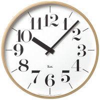 Lemnos(タカタレムノス) RIKI CLOCK L WR-0401L [クオーツ 掛け 時計] 1個