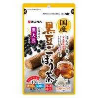 国産黒豆ごぼう茶 18包 あじかん 健康茶 お茶