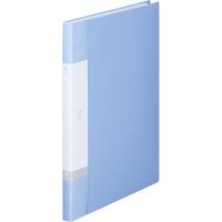 リヒトラブ リクエスト クリヤーブック A4タテ 20ポケット 水 G3201 業務用パック 1箱(10冊入)