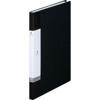 リヒトラブ リクエスト クリヤーブック A4タテ 20ポケット 黒 G3201 業務用パック 1箱(10冊入)