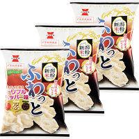 岩塚製菓 ふわっと トリプルペッパー味 1セット(3袋入)