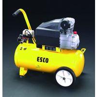 esco(エスコ) AC100V/1.50kwエアーコンプレッサー(タンク30L) EA116SD 1台 (直送品)