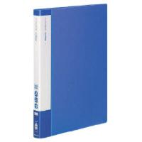 コクヨ クリヤーブック(エコロジー・固定式) A4縦 40枚ポケット 青 1セット(10冊)