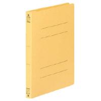 コクヨ フラットファイルV樹脂製とじ具 B6縦 15mmとじ 黄 フ-V13Y 1セット(100冊)