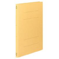 コクヨ フラットファイルV樹脂製とじ具 B4縦 15mmとじ 黄 フ-V14Y 1セット(100冊)