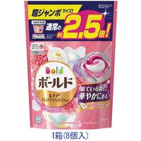 ボールド ジェルボール3D 癒しのプレミアムブロッサム 超ジャンボ詰替え 1箱(8個入)P&G