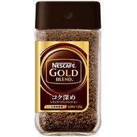 【インスタントコーヒー】ネスレ日本 ネスカフェ ゴールドブレンド コク深め 瓶 1本(120g)