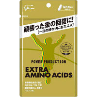 パワープロダクション エキストラ・アミノ・アシッド 6日分 24粒 江崎グリコ アミノ酸 サプリメント