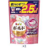 ボールド ジェルボール3D 癒しのプレミアムブロッサム 超ジャンボ詰替え 1セット(3個:1個×3)P&G