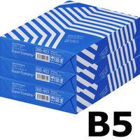 コピー用紙 マルチペーパー スーパーエコノミー+ B5 1セット(1500枚:500枚入×3冊) アスクル
