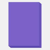 カラーペーパー クレールフォンテーヌ 「トロフェ」 A4 濃色パープル 1冊(100枚入)