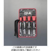 エスコ(esco) 13-25mm/4本組 平タガネ(グリップ付) 1組 EA572BA(直送品)