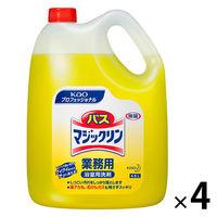 バスマジックリン浴室用洗剤 4.5L×4