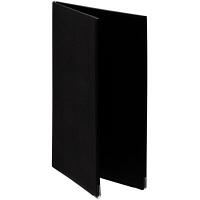 メニューファイル表紙 合皮製 A4 10冊 アスクル 黒