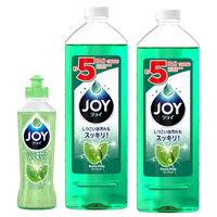 【お得なセット】ジョイコンパクト パワーミントの香り 本体(190ml)+詰め替え(770ml×2)