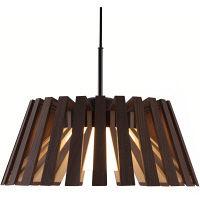 柿下木材 リタ ダイニングペンダントライト ウォルナット (引掛シーリング用) P-Rita/02h 1台 (取寄品)