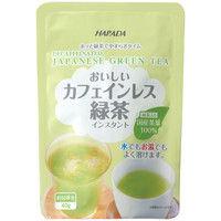 【水出し可】ハラダ製茶 ハラダ カフェインレス緑茶 1袋(40g)
