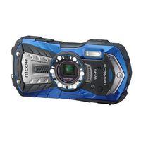 リコーイメージング 防水・防塵・耐衝撃デジタルカメラバッテリーSDセット青 WG-40W BLバッテリーSDSET 1セット