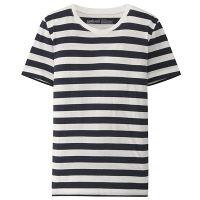 無印 半袖Tシャツ(ボーダー) 婦人 L
