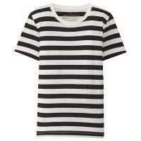 無印 半袖Tシャツ(ボーダー) 婦人 M