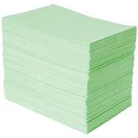 紙エプロン グリーン 1箱(500枚入) ビー・エス・エーサクライ