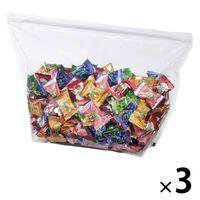 江崎グリコ ラブリーパックフルーツアソートキャンディ 1セット(1050g×3袋)