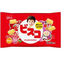 江崎グリコ ビスコ大袋アソートパック 1セット(24パック入×12袋)