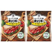 コイケヤ(湖池屋)スーパー大麦ポリンキー BLT味 1セット(2袋入)