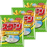 コイケヤ(湖池屋)スコーン サワークリームオニオン味 1セット(3袋入)