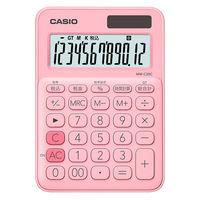 カシオ計算機 カラフル電卓 ペールピンク MW-C20C-PK-N