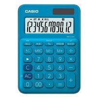 カシオ計算機 カラフル電卓 レイクブルー MW-C20C-BU-N