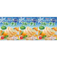 【数量限定】ハウス食品 フローズンフルーチェメロン 1セット(3個入)