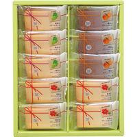 中山製菓 果実のクリームサンド10個 1箱
