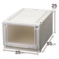 【衣装ケース】天馬 フィッツユニットケース3525(クローゼットサイズ) 1箱(4個入)
