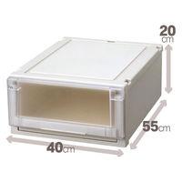 【衣装ケース】天馬 フィッツ ユニットケース4020(クローゼットサイズ) 1箱(4個入)