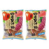 アキヤマ 国産果汁100%ミニゼリー 1セット(2袋入)