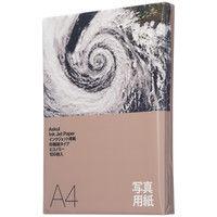 アスクル インクジェット用紙 写真用紙 印画紙 薄手 A4 1袋(100枚入)