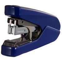 マックス フラットホッチキス パワーフラット 26枚とじ ブルー 1個 HD-10DFL/B2