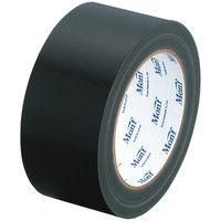 【アウトレット】古藤工業 Monf スパッと切れる布テープ No.8001カラー 0.22mm厚 ダークブラック(黒) 幅50mm×長さ25m巻 1巻