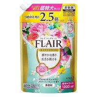 フレアフレグランス フラワー&ハーモニーの香り 超特大 詰め替え 1200ml 1個 柔軟剤 花王