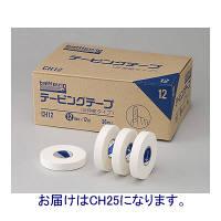 ニチバン バトルウィンテーピングテープ(非伸縮タイプ) 25mm×12m CH25 1箱(24巻入) (取寄品)