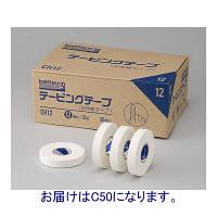 ニチバン バトルウィンテーピングテープ(非伸縮タイプ) 50mm×12m C50 1箱(12巻入) (取寄品)