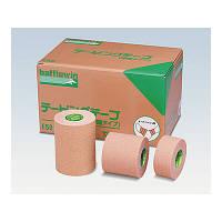 ニチバン バトルウィンテーピングテープ(伸縮タイプ) 50mm×4m(伸長時) E50 1箱(12巻入) (取寄品)