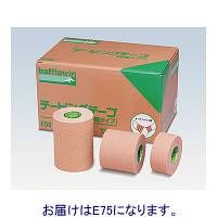ニチバン バトルウィンテーピングテープ(伸縮タイプ) 75mm×4m(伸長時) E75 1箱(12巻入) (取寄品)