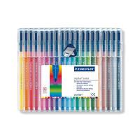 ステッドラー トリプラス カラーペン 20色セット 323 SB20 1セット(20色セット×10セット) (取寄品)