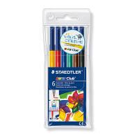 ステッドラー ドライセーフ・カラーペン 6色セット 326 WP6 1セット(6色セット×10セット) (取寄品)